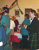 Piping in the Haggis 1
