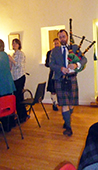Piping in the Haggis 2